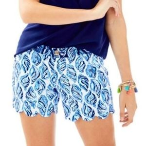 Lilly Pulitzer Buttercup Stretch Shorts Drop In
